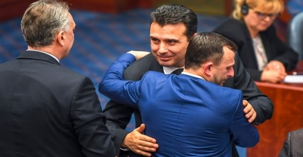 Macedonia's Parliament approves change of name