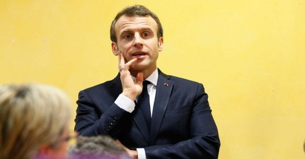 Macron dismisses new ointment from the Italian government