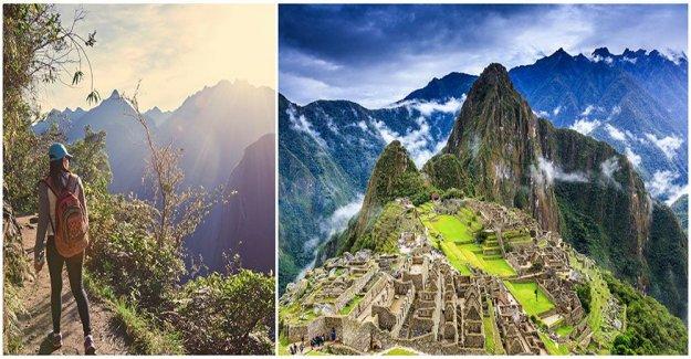 Mass tourism threatens the world heritage site of Machu Picchu