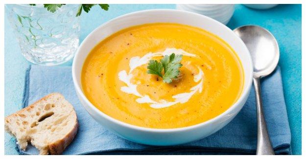Morotssoppa with ginger – solgul character