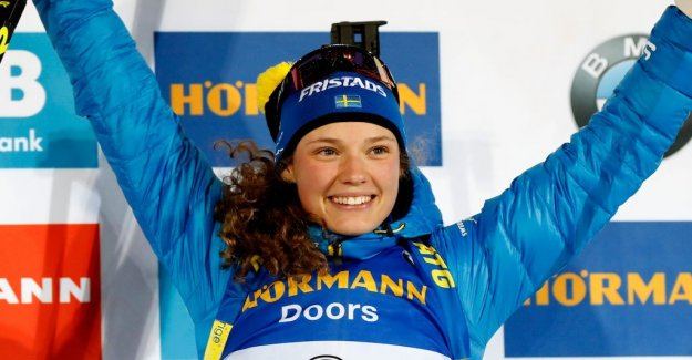 New podium for Hanna Öberg: Good start to the new year