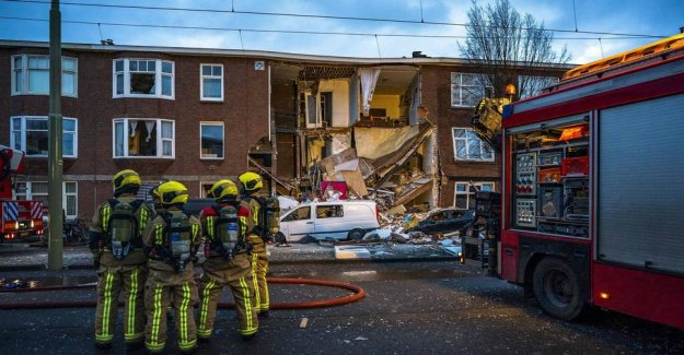 Nine injured: House collapses in the Hague