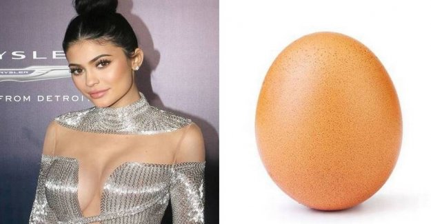 Ordinary eggs have just taken the Insta-crown from Kylie Jenner