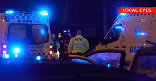 Pregnant woman and child taken to hospital after road crash