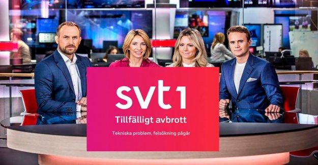 SVT appoints the crisis team after sändningshaverierna