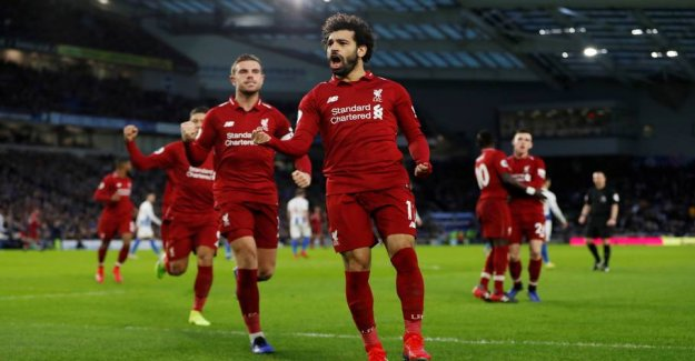 Salah and Liverpool worked out for the three points