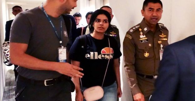 Saudi teen on the run: Now she's landed in Canada