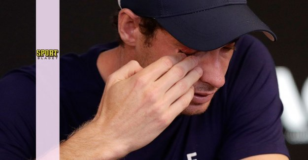 Tearful Murray: Could be the last race