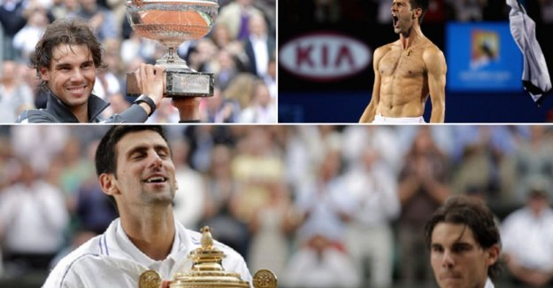 The eighth grandslamfinale between Djokovic and Nadal is a prey for the Serb: how were the seven other finals?