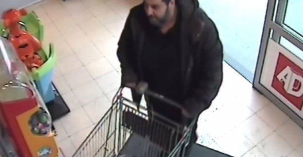 Thieves drive Delhaize outside with a cart full of champagne and vodka