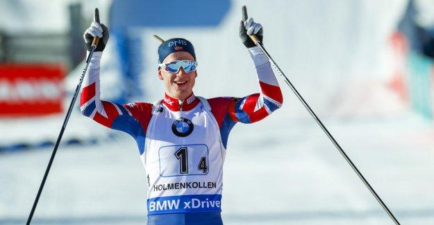 Thingnes Bø won again - despite three bom