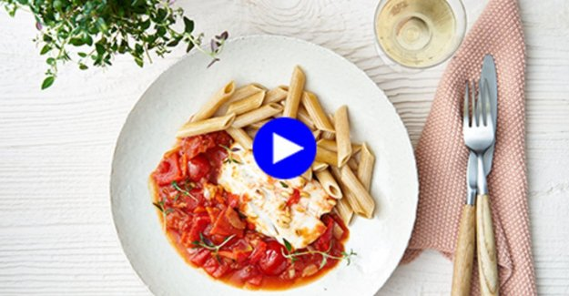 This healthy pasta dish with fish, you can eat without a shred of guilt