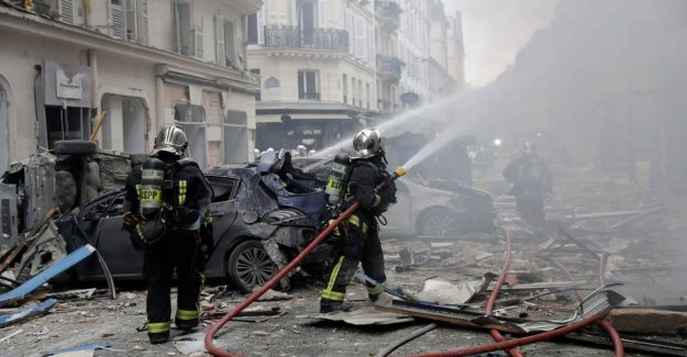 Three killed in gas explosion in Paris: the 47 persons injured