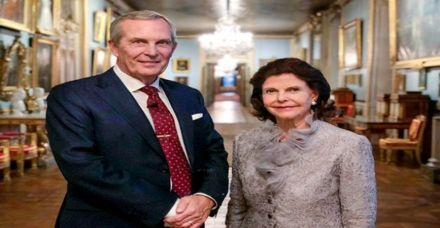 Today on tv: Queen Silvia handed out to journalists - don't be indiscreet!