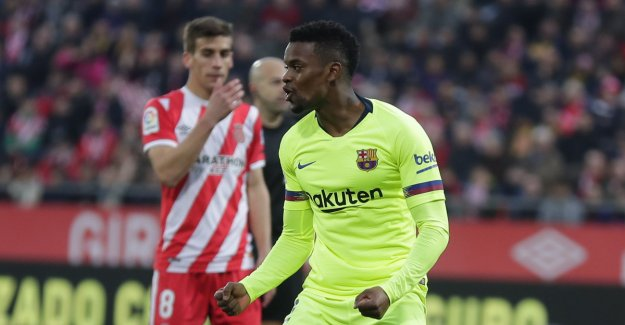 Unexpected hero when Barcelona won its eighth straight