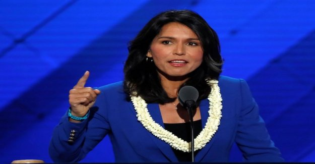 Veteran Tulsi, 37, a candidate in the primaries 2020
