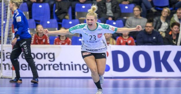 Viborg download ironclad victory over the French in the EHF Cup