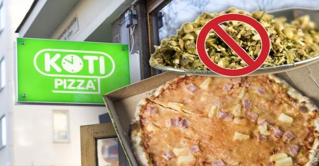 Where's the oregano? Home pizza from the network ordered the