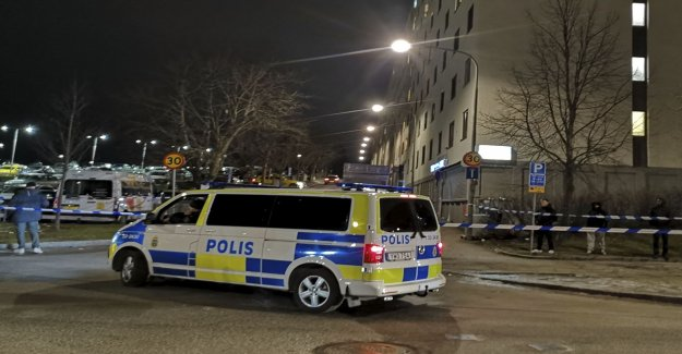 Young man killed in Tensta
