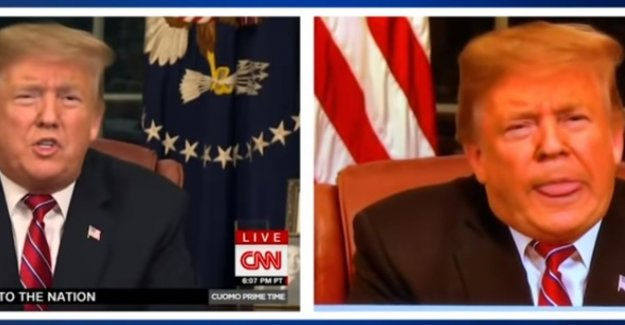 Zusterzender Fox dismisses video editor that Trump his tongue sticking out