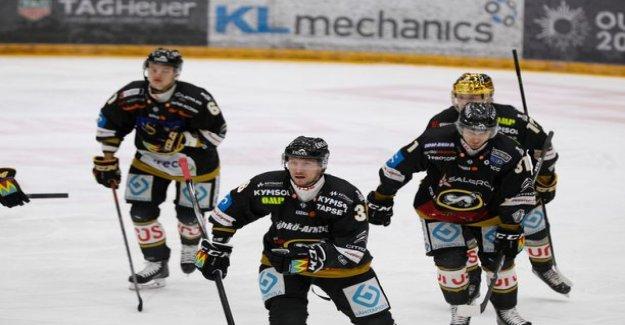 1+2! Rushing returned Jussi Jokinen firing Weasels victory