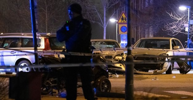 Aggressive in the Malmö shootings and car accident