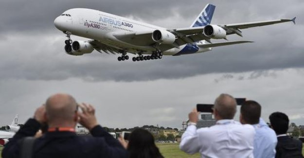 Airbus announced for passenger aircraft A380