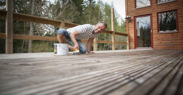 Altanbygget – save a lot of money on the right decking