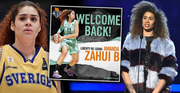 Amanda Zahui get new contracts in the WNBA