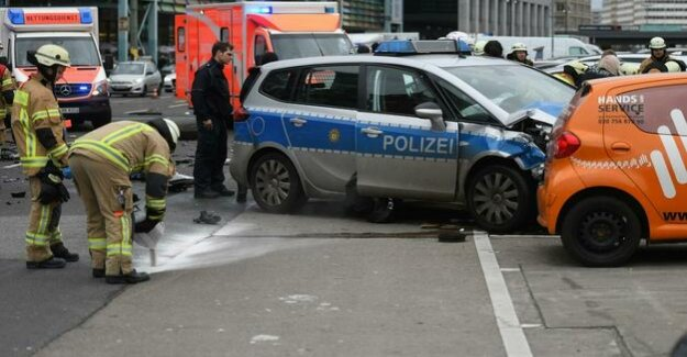 Berlin-Mitte : Fatal accident: COP was drunk