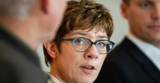 CDU-Chefin : Kramp-Karrenbauer sees SPD-social plans very critical