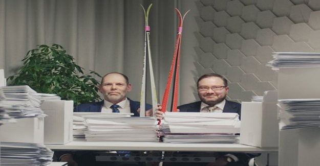 Commercial cooperation with the population register centre: office of the special rapture: the status of the tax notification in electronic form, so officials are forced to ski