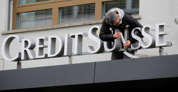 Credit Suisse writes after three years of profit