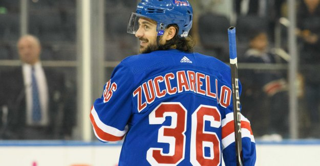 Double Zuccarello-assist in the Rangers win