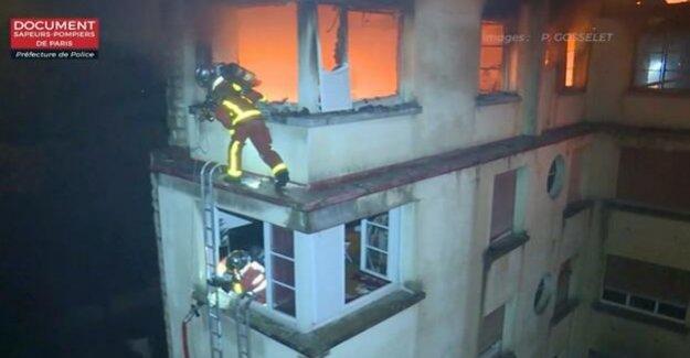 France : at Least ten Dead in a fire in a Paris high-rise