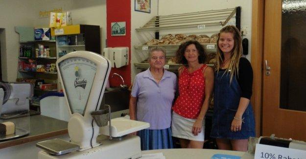 Grandma's village shop is now packs a Non-market