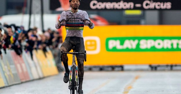 HLN-surfer, doubt not: Mathieu van der Poel is now all the best cyclocross rider of all time