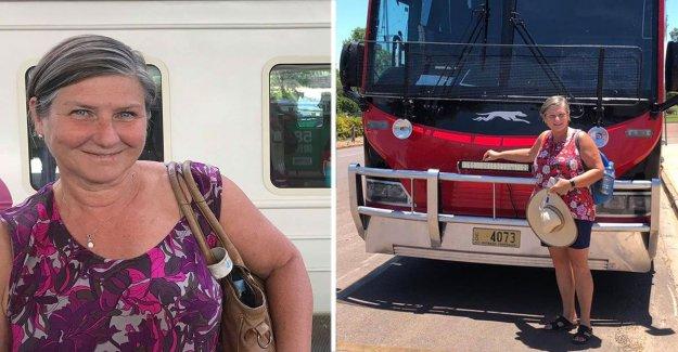 Helen, 66, took the train to Australia