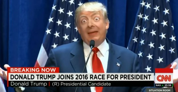 Hilarious and nasty at the same time: viral 'Deepfake'-creation is a mix of Donald Trump and... Mr. Bean