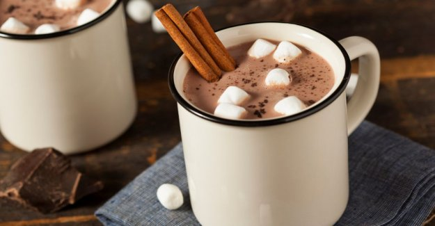 Hot chocolate – so gets it completely perfect