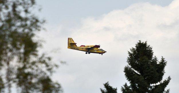 MSB wants to procure a private brandsläckningsflyg