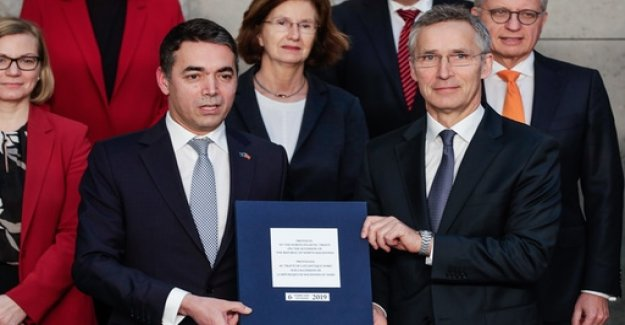 NATO decides on inclusion of the North of Macedonia