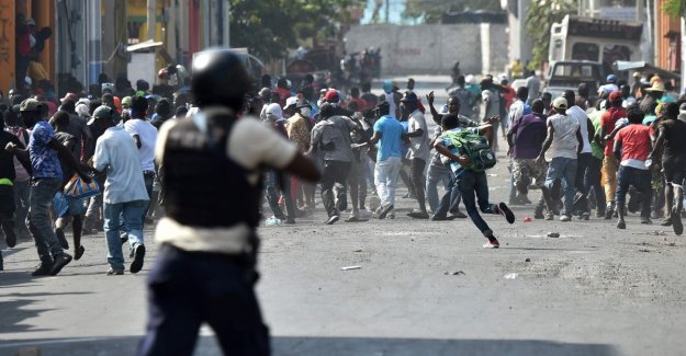 Protests in Haiti demanding new dead