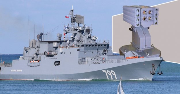 Putin let warships to equip with a weapon that leads to vomiting and hallucinations in the enemy