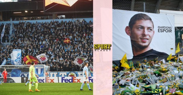 Sala is honored with a minute of silence in Malmö