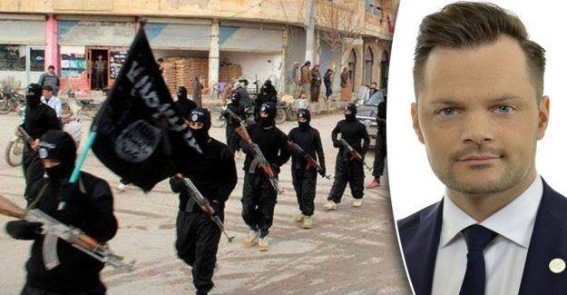 So can the IS-terrorists condemned back home in Sweden