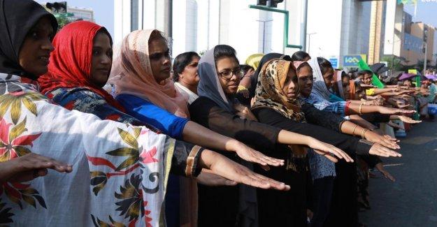 Tempelstyrelsen fold – allows women