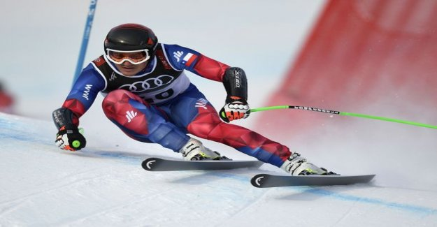 Terrible situation interrupted the alpine skiing world championships-the bills roared in pain sharp after a crash, the momentum of more than 110 miles per hour