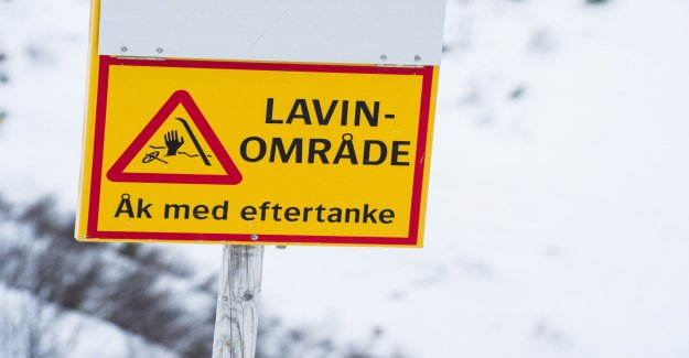 The Risk for avalanches in the north of Sweden