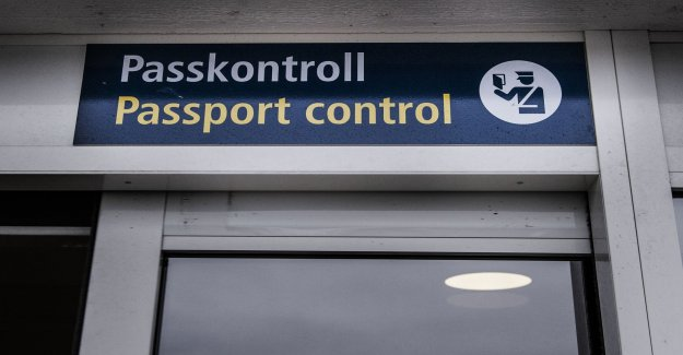The Swedish migration board examines Turkish passport